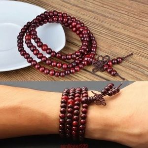 Jewelry - 6mm Tibetan Sandalwood Buddhist Prayer Beads